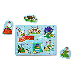 Melissa & Doug® 6-Piece Nursery Rhymes 2 Sound Puzzle