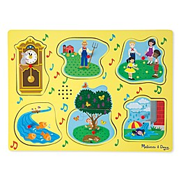 Melissa & Doug® 6-Piece Nursery Rhymes 1 Sound Puzzle