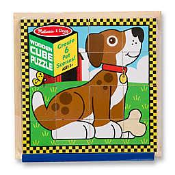 Melissa & Doug® 16-Piece Pets Cube Wooden Puzzle