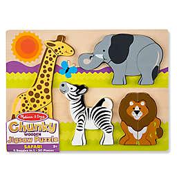 Melissa & Doug® 20-Piece Safari Chunky Jigsaw Puzzle