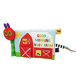 Good Morning Busy Farm Sensory Soft Book by Eric Carle