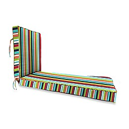 Stripe 80-Inch x 23-Inch Chaise Lounge Cushion in Sunbrella® Canvas