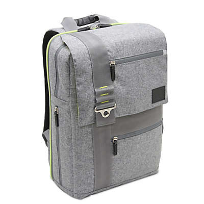 Bluekiwi™ Papara Universal Diaper Backpack in Grey/Green