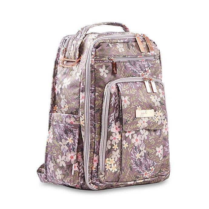 Alternate image 1 for Ju-Ju-Be® Be Right Back Diaper Backpack in Sakura at Dusk
