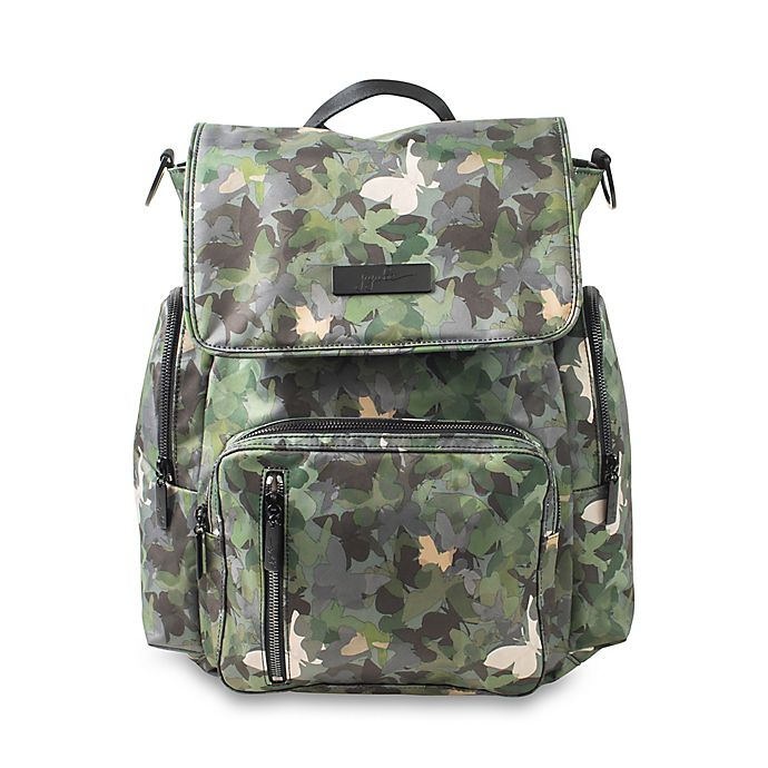 Alternate image 1 for Ju-Ju-Be® Be Sporty Backpack Style Diaper Bag in Butterfly Forest