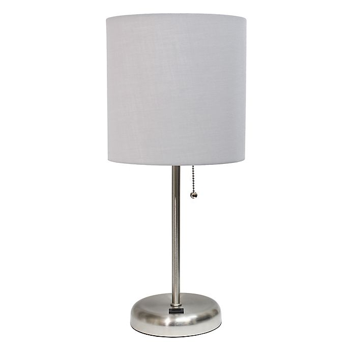 Alternate image 1 for Limelights Stick Lamp With USB Charging Port