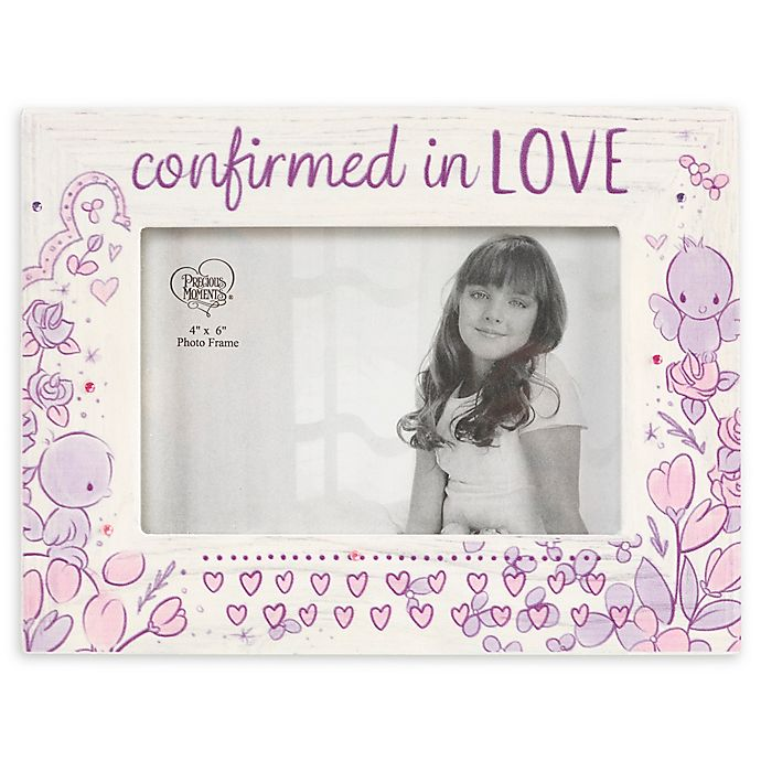 Alternate image 1 for Precious Moments® Confirmed In Love Picture Frame