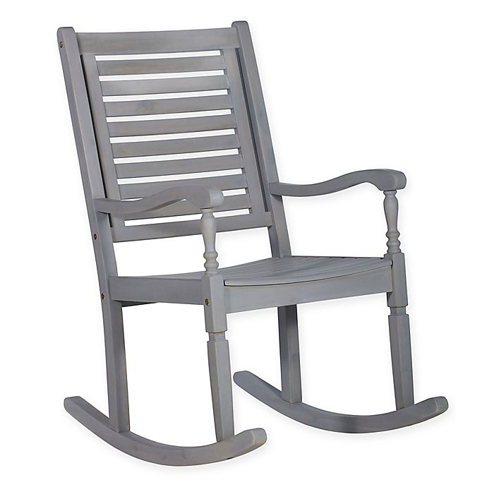 Groovy Forest Gate Eagleton Patio Rocking Chair Bed Bath Beyond Caraccident5 Cool Chair Designs And Ideas Caraccident5Info