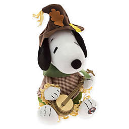 Peanuts™ 9-Inch Animated Autumn Banjo Snoopy Figurine