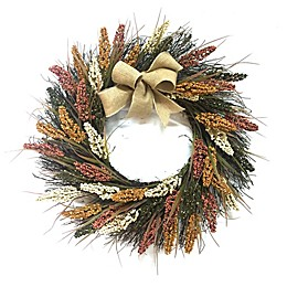 22-Inch Heather Harvest Wreath