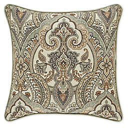 J. Queen New York™ Vienna Brocade 18-Inch Square Throw Pillow in Ivory