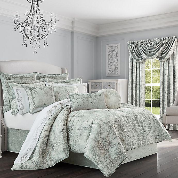 Alternate image 1 for J. Queen New York™ Dream Queen Comforter Set in Spa
