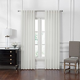 Waterford® Corra Back Tab Window Curtain Panel Pair