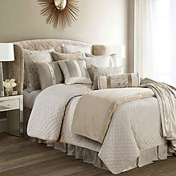 HiEnd Accents Fairfield Twin Coverlet Set in Sand
