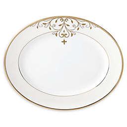 Lenox® Opal Innocence Scroll Gold™ 13-Inch Oval Platter