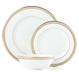Lenox® Lace Couture Gold™ 3-Piece Place Setting