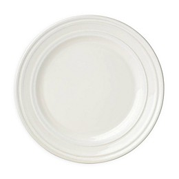 kate spade new york All in Good Taste Sculpted Stripe™ Cream Accent Plates (Set of 4)