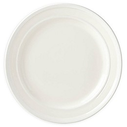 kate spade new york All in Good Taste Sculpted Stripe™ Cream Dinner Plates (Set of 4)