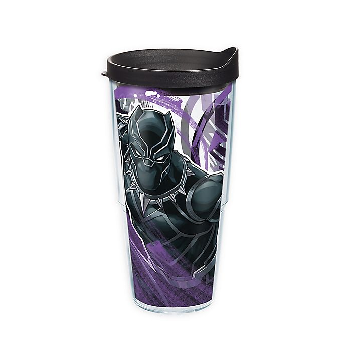 Alternate image 1 for Tervis® Marvel® Black Panther Iconic 24 oz. Wrap Tumbler with Lid