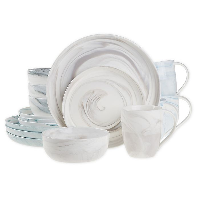 Alternate image 1 for Artisanal Kitchen Supply® Coupe Marbleized Dinnerware Collection