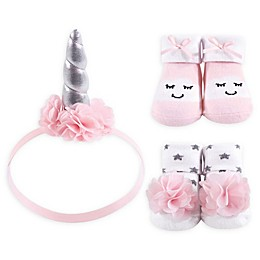 Hudson Kids® 3-Piece Headband and Sock Set