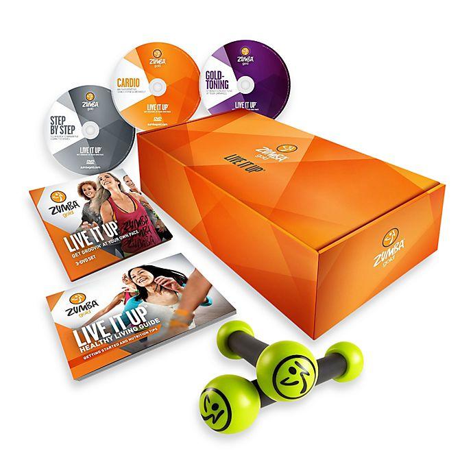 Zumba Fitness Live Dvd: Zumba® Gold LIVE IT UP™ DVD Set