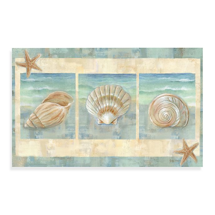 Alternate image 1 for Home Dynamix Calm Chef Island Shell 19.5-Inch x 31.5-Inch Kitchen Mat