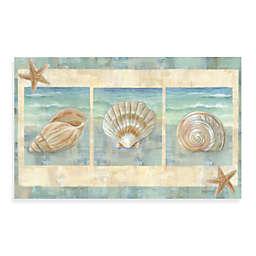Home Dynamix Calm Chef Island Shell 19.5-Inch x 31.5-Inch Kitchen Mat