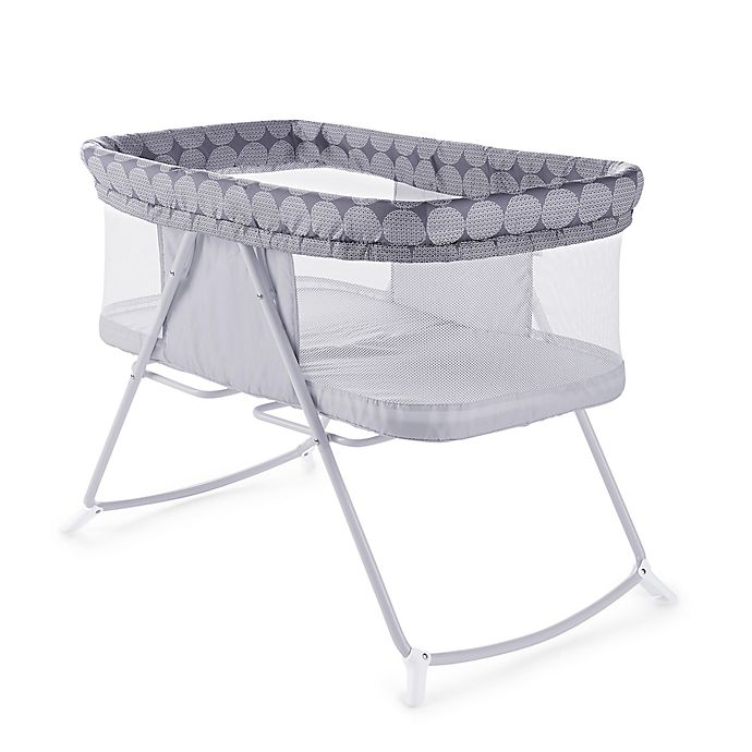 Alternate image 1 for Ingenuity™ Foldaway Rocking Bassinet Classic™ - Crosby