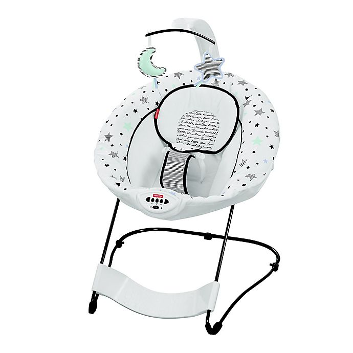 Alternate image 1 for Fisher-Price® See & Soothe™ Deluxe Bouncer