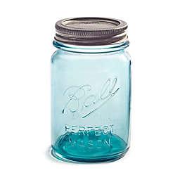 Ball® Collectors Edition Vintage Regular Mouth 16 oz. Mason Jars in Aqua (Set of 4)