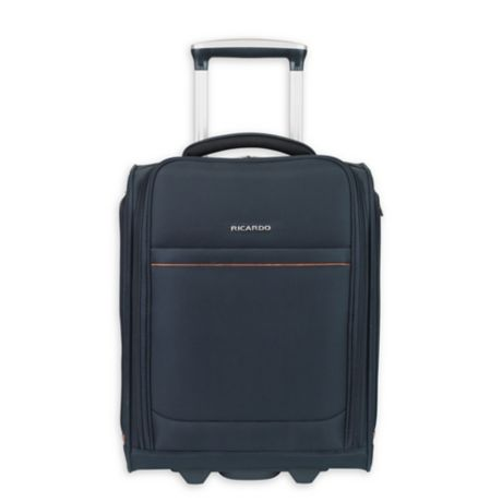 Ricardo Beverly Hills Sausalito 21-Inch Carry On Spinner Midnight Blue