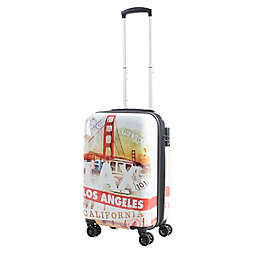 American Green Travel California 20-Inch Hardside Spinner Carry On Luggage