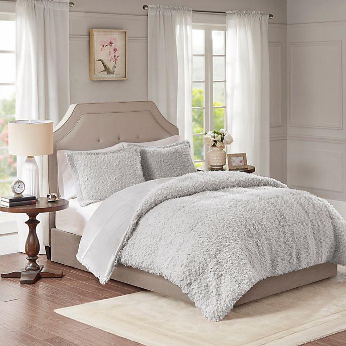 Alternate image 1 for Madison Park Nova Full/Queen Comforter Set in Grey