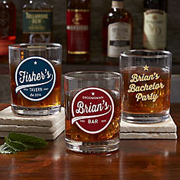 Brewing Co. Personalized Printed Whiskey Glass