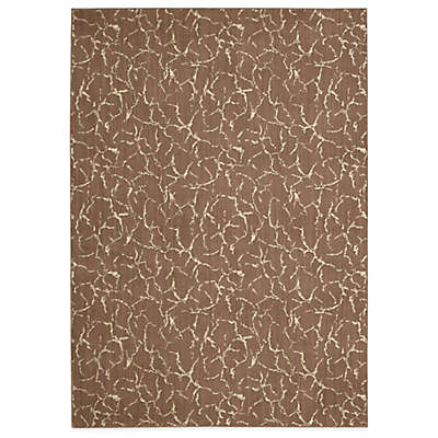 "Nourison Nepal Rug 7'9"" x 10'10"" Area Rug in Fawn"