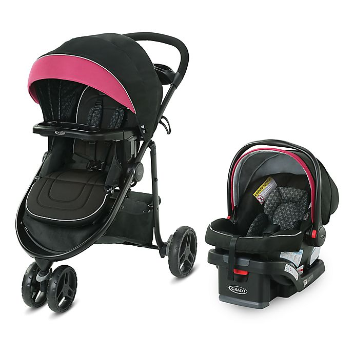 Alternate image 1 for Graco® Modes™  3 Lite DLX Travel System