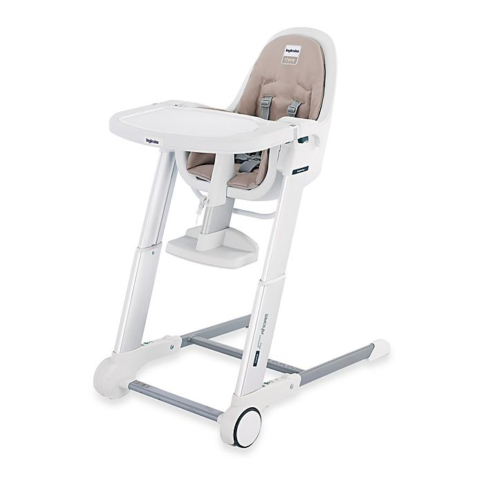 Brilliant Inglesina Zuma White High Chair In Cream Buybuy Baby Ibusinesslaw Wood Chair Design Ideas Ibusinesslaworg