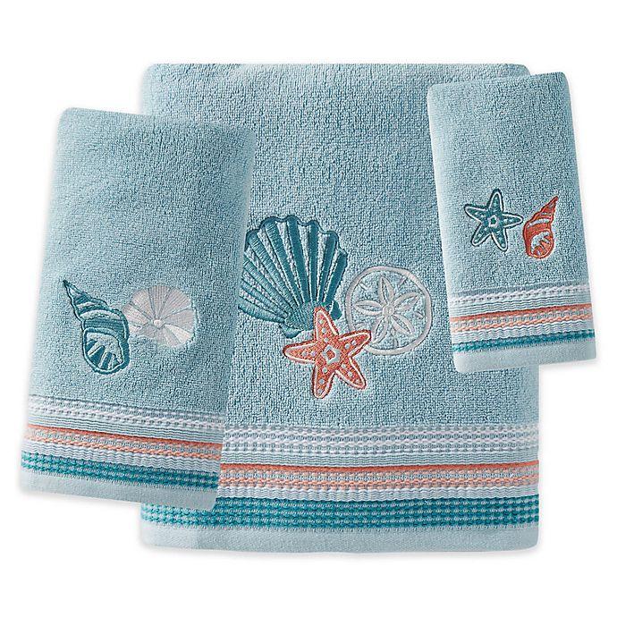Alternate image 1 for Seaside Harbor Bath Towel Collection