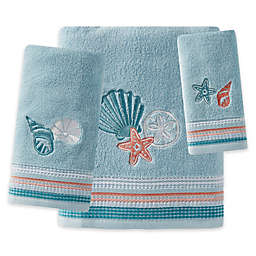 Seaside Harbor Bath Towel Collection