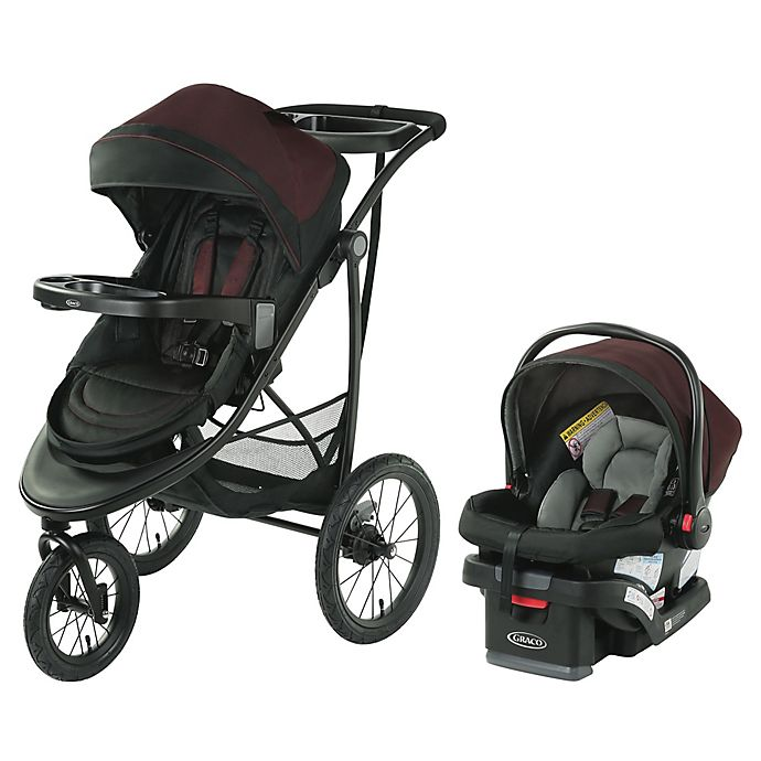 Alternate image 1 for Graco® Modes™ Jogger SE Travel System in Blackweave