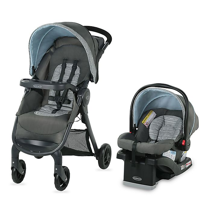 Alternate image 1 for Graco® FastAction™ SE Travel System in Carbie
