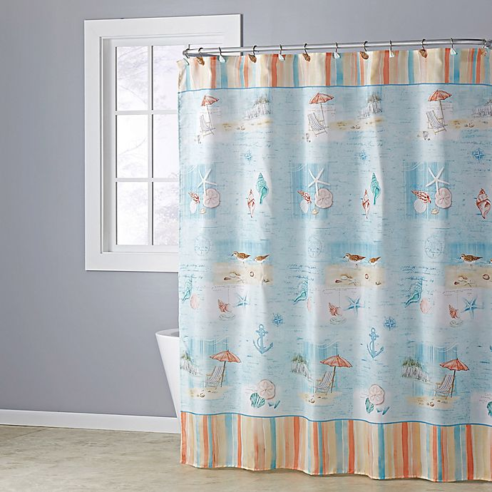 Alternate image 1 for Seaside Harbor Shower Curtain Collection