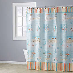 Seaside Harbor Shower Curtain Collection