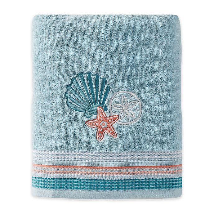 Alternate image 1 for SKL Home Seaside Harbor Bath Towel in Blue