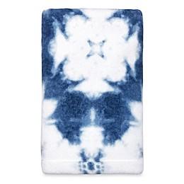 Shibori Stamp Hand Towel in Denim