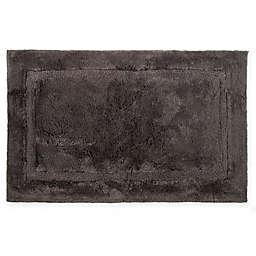 """Wamsutta® Black Label 24"""" x 40"""" Bath Rug in Slate Grey"""