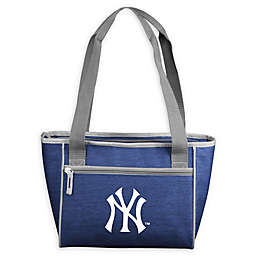 MLB New York Yankees Crosshatch 16-Can Cooler Tote
