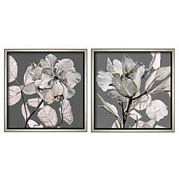 Boston Warehouse® Floral Framed Wall Art (Set of 2)