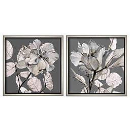 Boston Warehouse® Floral Framed Wall Art (Set of 2)